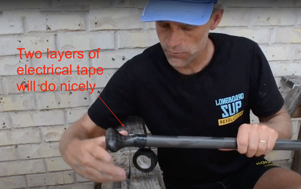 How to cut a carbon paddle
